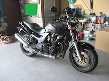 女職人が書く京都の板金屋さんのブログ☆★-オートバイ 部分塗装