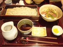 URA-design. blog-そば 楽食