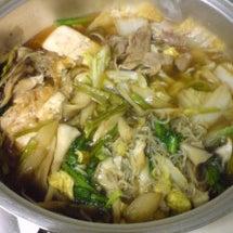白菜、ネギ、春菊、豆…