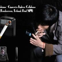携帯でタバコを・・・…