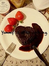 バレンタインまであと何日?チョコスイーツブログ-チョコレートファッジプディング