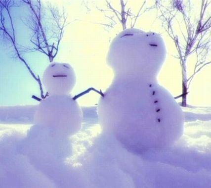 LIVE THE ROCK-snowman&