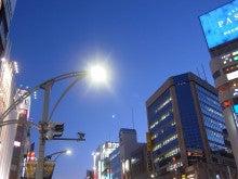 続 東京百景(BETA version)-#098 上野御徒町の宵の月