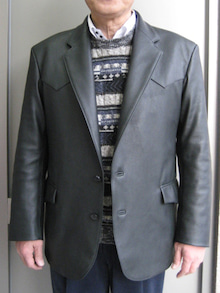 大木毛皮店工場長の毛皮修理リフォーム-ディアースキンジャケット