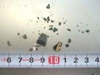 さんらいとの冒険(晃立工業オフィシャルブログ)-microsd物理破壊