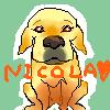 保護犬ニコラとゆかいな仲間たち-niko