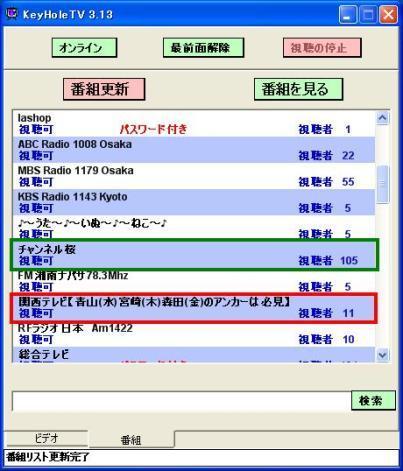 $☆情報箱☆-KeyHoleTV