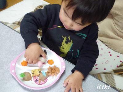 Kikiのキャラ弁1年生-パトカー