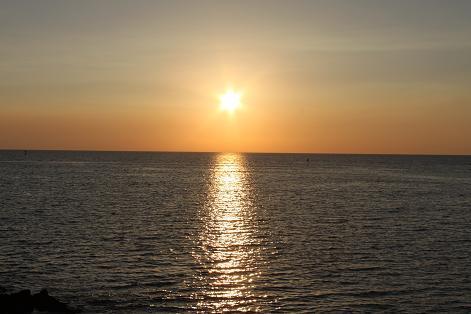 ハワイ島で大好きな仕事をしながら、心豊かに暮らすピース小堀 の ブログ -夕焼け