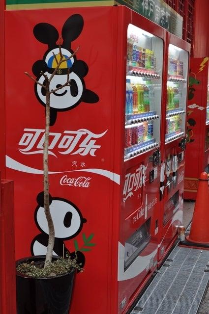 茶々吉とデジ一 のんびり旅-2010/2/14南京町自販機
