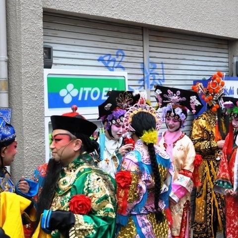 茶々吉とデジ一 のんびり旅-2010/2/14春節祭パレード