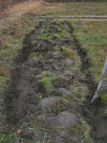 週2日6時間でこんなにやってる家庭菜園 byウッチー-100215畝たて04