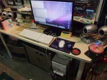 THE 中島邸 ~分離発注で挑む建築日記~-ガレージにMac
