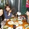 モンスーンで美女とお食事の画像