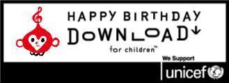 HAPPY BIRTHDAY DOWN LOAD for children