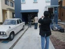 THE 中島邸 ~分離発注で挑む建築日記~-取材の様子を撮影する様子