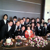 地元挙げての結婚式の画像
