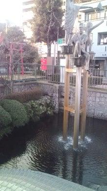 心の叫び-三島市役所の噴水