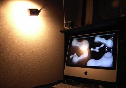 Tengis 間接照明 リモコン ベッドサイドランプ LED デスクライト LED電球付き 調色調