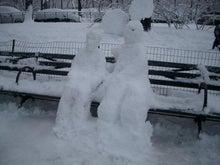 N.Y.に恋して☆-Central Park snow man