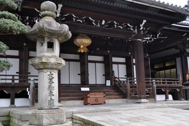 茶々吉とデジ一 のんびり旅-2010/2/28大谷本廟4