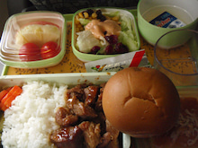 ちょっとそこまで-EVA機内食