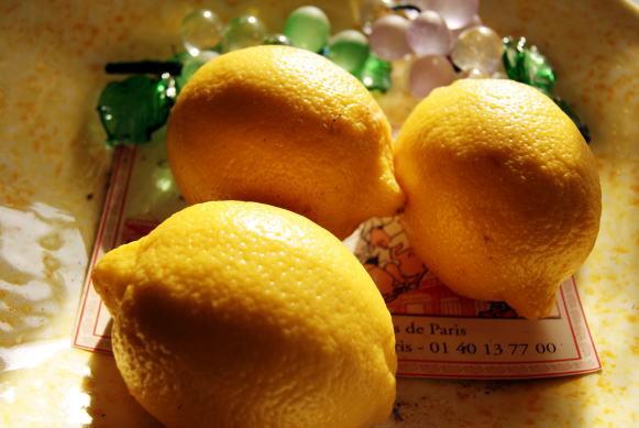 食べて飲んで観て読んだコト-レモン