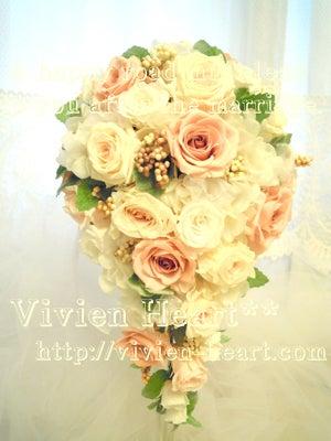 Vivien Heart** ~ヴィヴィアンハート~-キャスケードブーケ