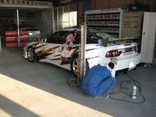 女職人が書く京都の板金屋さんのブログ☆★-痛車 塗装