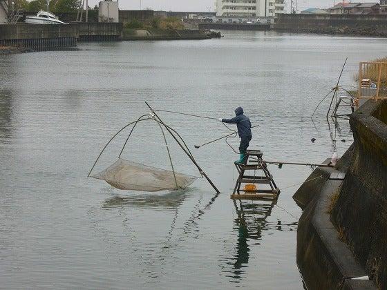 世界一の醤油をつくりたい 湯浅醤油有限会社 社長 新古敏朗のブログ-四つ手網漁2