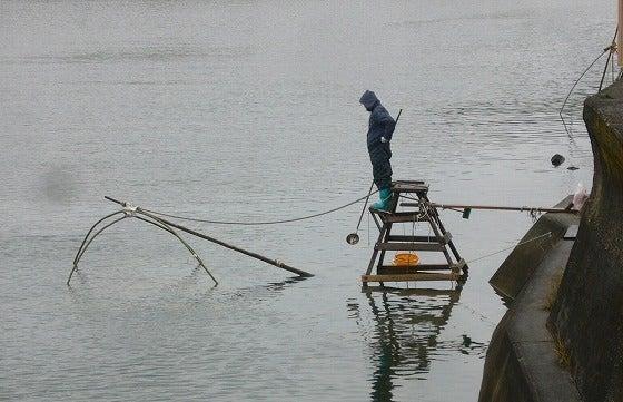 世界一の醤油をつくりたい 湯浅醤油有限会社 社長 新古敏朗のブログ-四つ手網漁