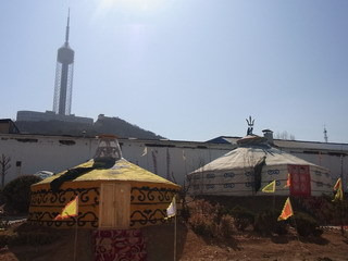 中国大連生活・観光旅行通信**-大連 労働公園そば モンゴル料理店