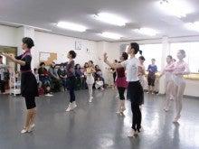 21世紀のバレエ上達法研究会のブログ-レッスンの様子
