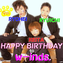 w-inds.9周年…