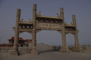 中国大連生活・観光旅行通信**-煙台「八仙過海」