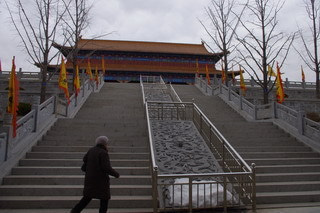 中国大連生活・観光旅行通信**-煙台「太虚宮」