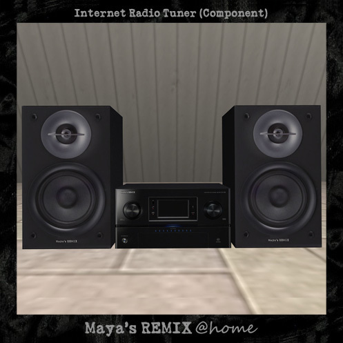 Maya's style / Second Life Fashion-Internet Radio Tuner (Component)