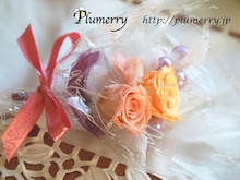 Plumerry(プルメリー)プリザーブドフラワースクール (千葉・浦安校)-プリザーブドフラワー ブートニア