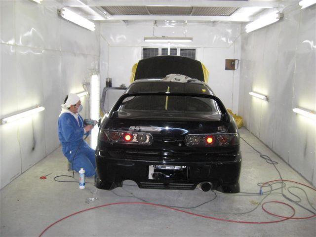 女職人が書く京都の板金屋さんのブログ☆★-車 磨き
