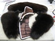 大木毛皮店工場長の毛皮修理リフォーム-毛皮 衿リフォーム