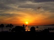 $楽園ハワイ通信 by Lani Tours-マジックアイランドの夕日