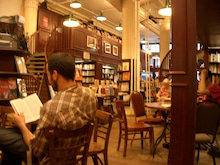 N.Y.に恋して☆-Bookstore cafe3
