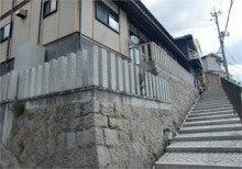 kurotobikougyouのブログ-参道建石工事
