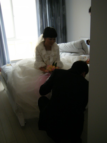 アラサー独女的 野菜婚活-結婚式