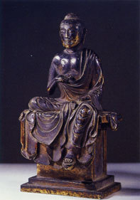 観心寺のブログ-金銅仏