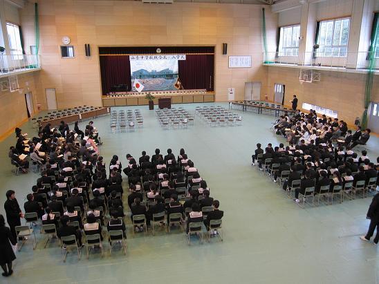中学校入学式(4月12日) | 足軽...