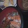 海鮮丼。の画像