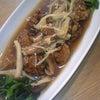 夕食☆肉団子のきのこあんかけの画像