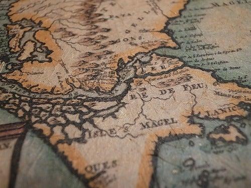 ★ 世界一周御披露目帳 ★-古地図