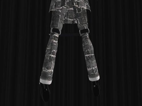 Maya's style / Second Life Fashion-ボンデージパンツディティール